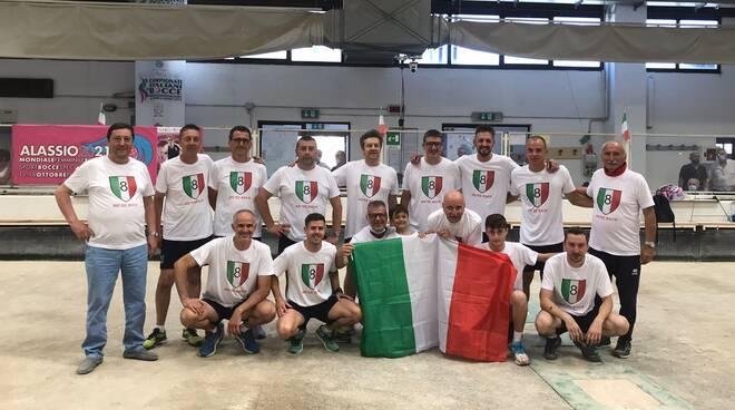 brb ivrea campione d'italia 2021 bocce