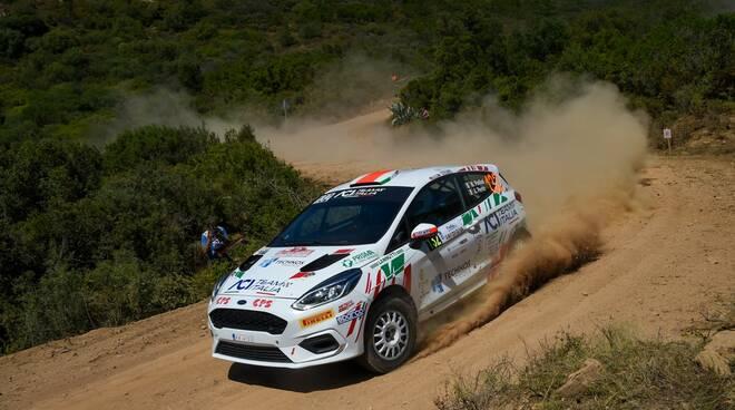 foto credit Magnano Marcel Porliod e Andre Perrin con la Ford Fiesta