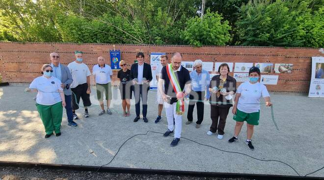 Inaugurazione campi da bocce Gsh Pegaso