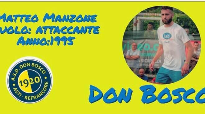 Matteo Manzone Don Bosco Asti