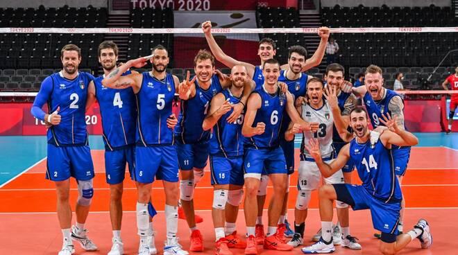 nazionale volley italia tokio 2021