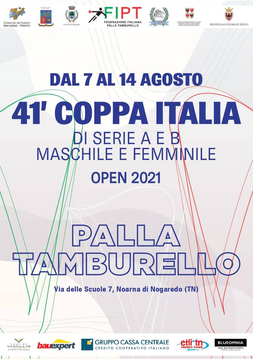 coppa italia tamburello finali 2021