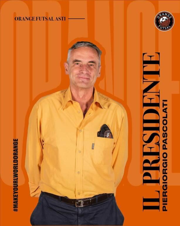 piergiorgio pascolati orange futsal