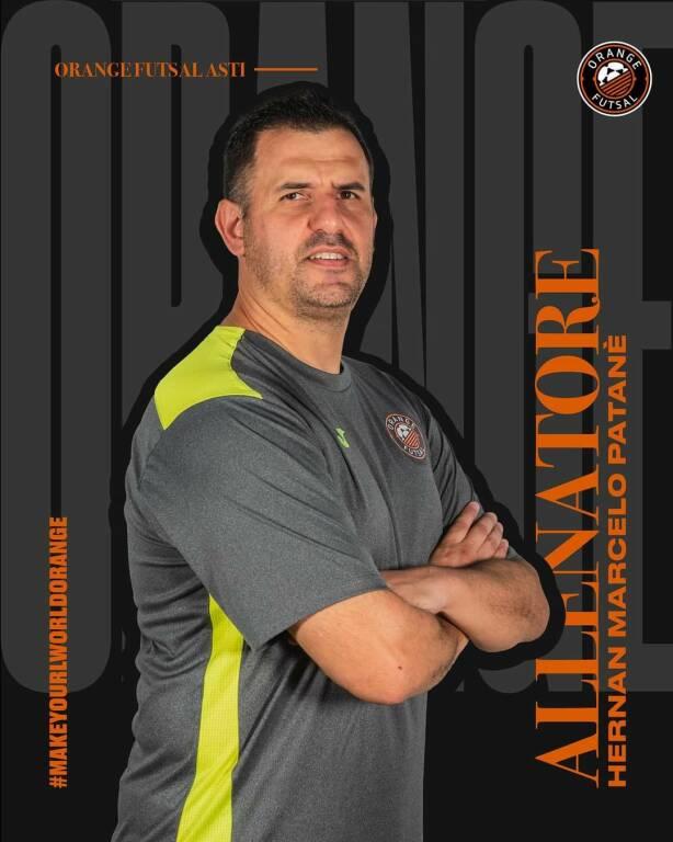 hernan patanè orange futsal