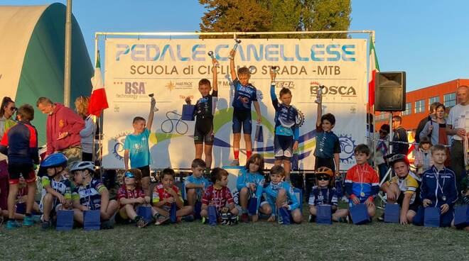 trofeo trophy pedale canellese